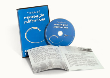 Videocorso di massaggio californiano, il massaggio rilassante emotivo sensoriale. DVD e Streaming Video.